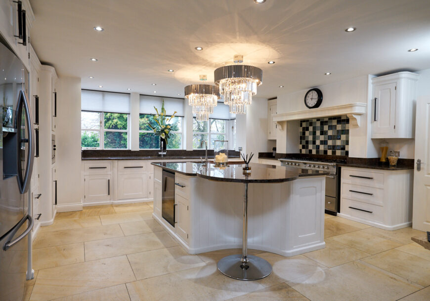 MARK WILKINSON Approved Used Kitchen and Utility, Lacanche Range Oven, Samsung F/F, Lancashire