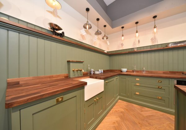 Painted In Frame Shaker Ex Display Kitchen