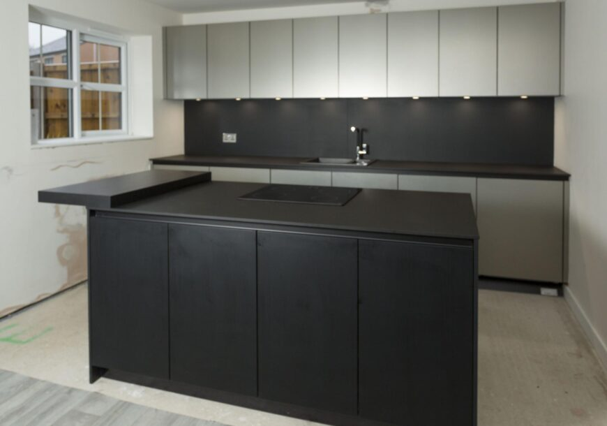 Only 2 Months Old! RRP £25,000 GERMAN SCHULLER Kitchen, Appliances & Island, Yorkshire