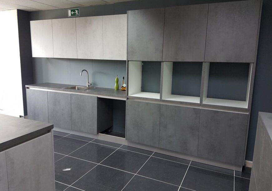 Concrete Effect Ex Display Kitchen