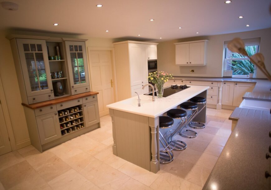 Approved Used Kitchen, Panorama Painted Shaker, Lancashire