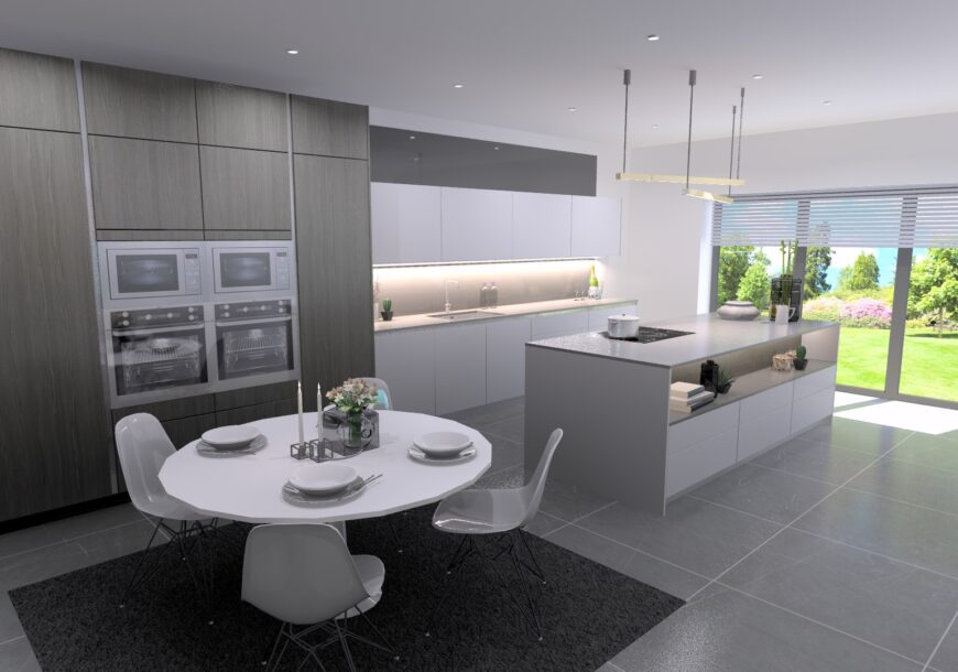 Ex Display Kitchen, SieMatic Pure Style Modern Handleless, South