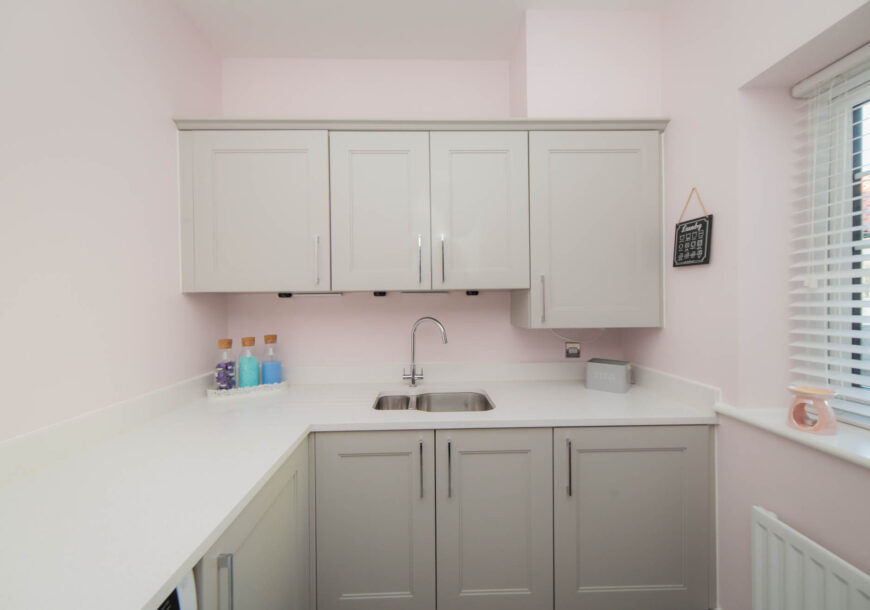 Approved Used Kitchen, Large Shaker & Utility, Essex