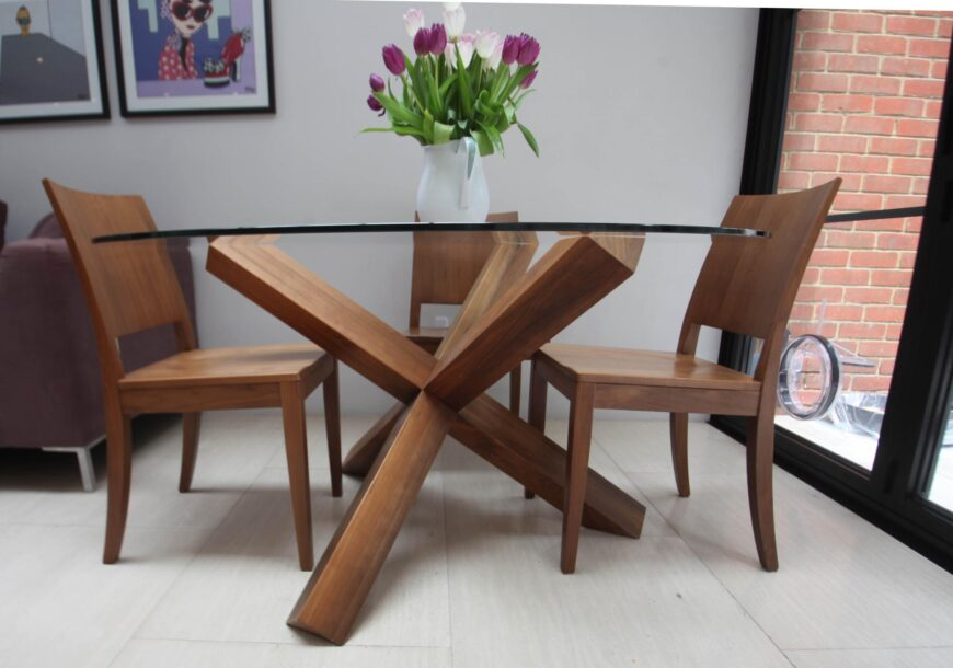 Approved Used Dining Table & Chairs, Heals, London