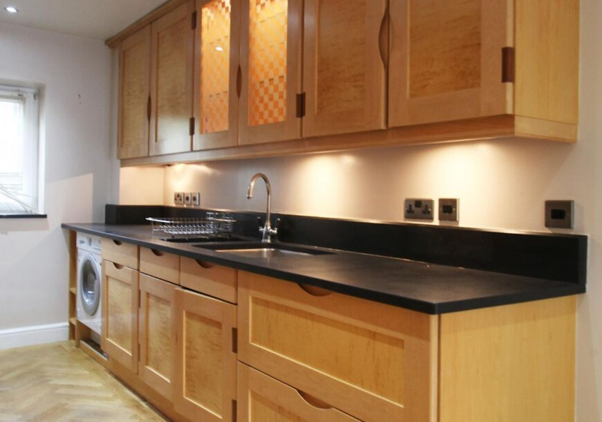 Approved Used Kitchen, Bespoke Maple, London