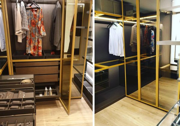 Ex Display Walk-in Wardrobe