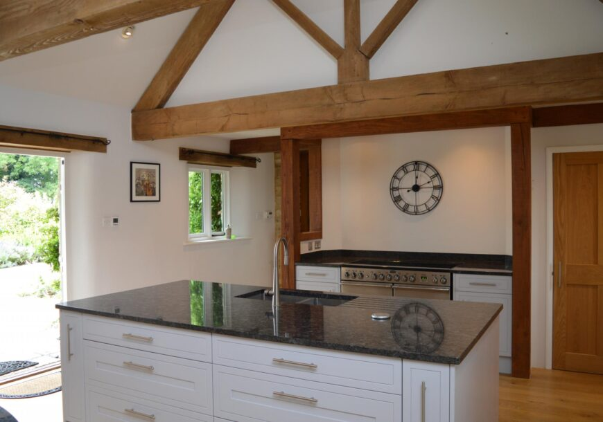 Approved Used Kitchen, Howdens In Frame, Rangemaster, Gloucestershire