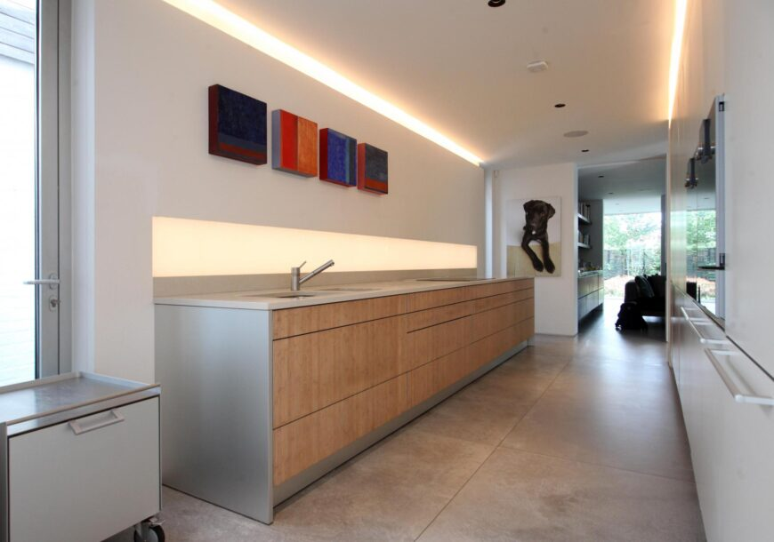 Approved Used Kitchen, Bulthaup (German) Handleless, Wolf/Miele Appliances, London