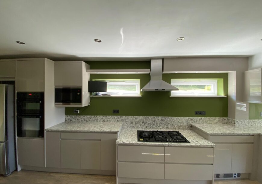 Approved Used Large Wren Kitchen, 2 YEARS USE Modern Gloss, London