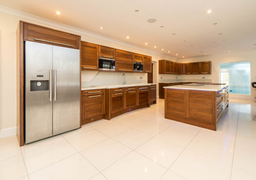 Approved Used Kitchen, Stoneham Large Shaker With Island, Greater London