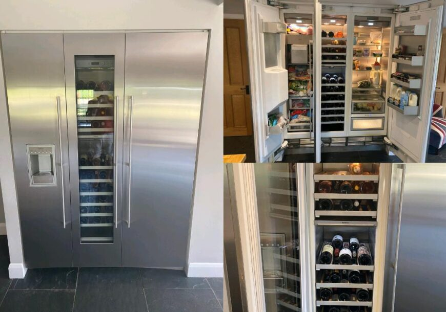 Approved Used Gaggenau Refrigeration Unit, Wine Cooler, Surrey reduced for quick sale