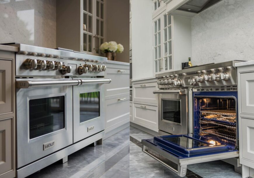 Approved Used WOLF Range Oven, Charbroiler & Griddle, Buckinghamshire