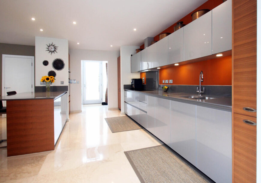 Approved Used Kitchen, Large Commodore True Handless, AEG Appliances, East Sussex