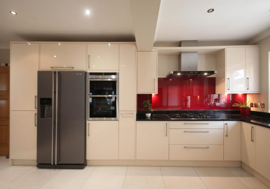 Approved Used Kitchen, Large Modern, NEFF Appliances, Berkshire