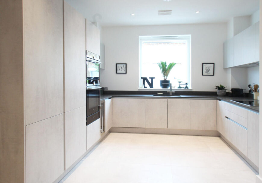 Approved Used Kitchen, Modern Leicht (German), London