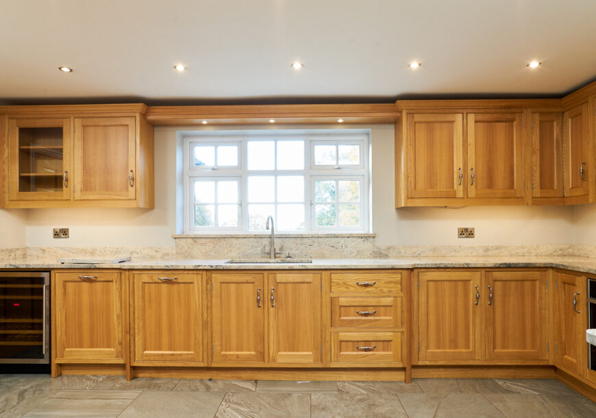 Approved Used Kitchen, In Frame Shaker, Cheshire