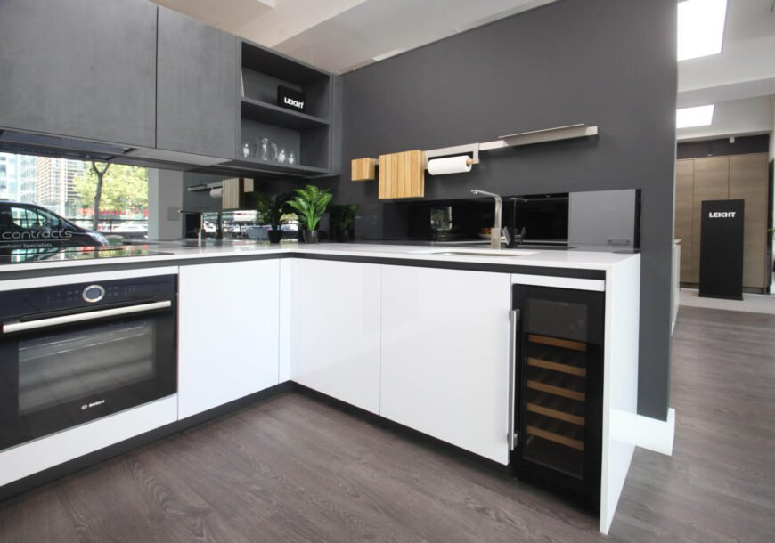 Ex Display Kitchen, Leicht Contino Gloss, South