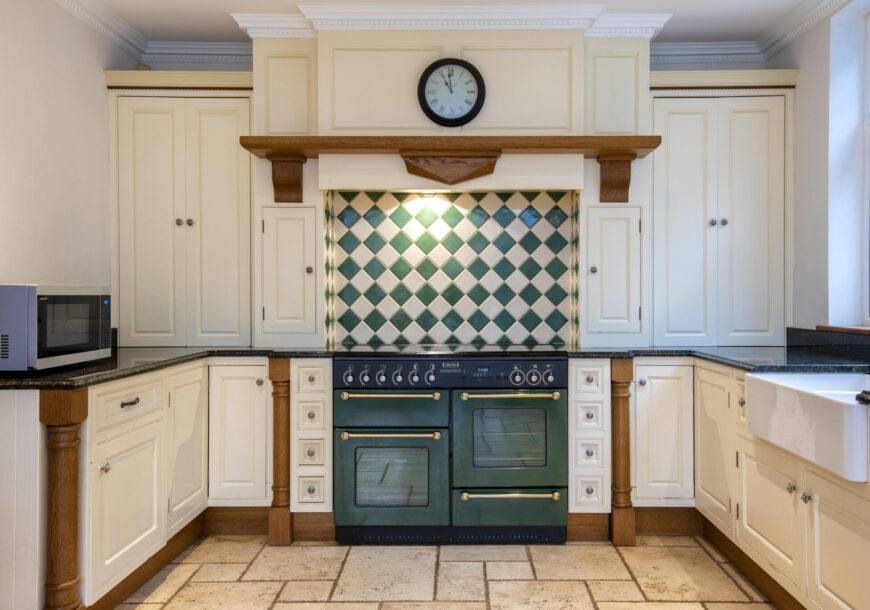 Approved Used Kitchen, Classic Painted In Frame, Rangemaster Oven, Nottingham