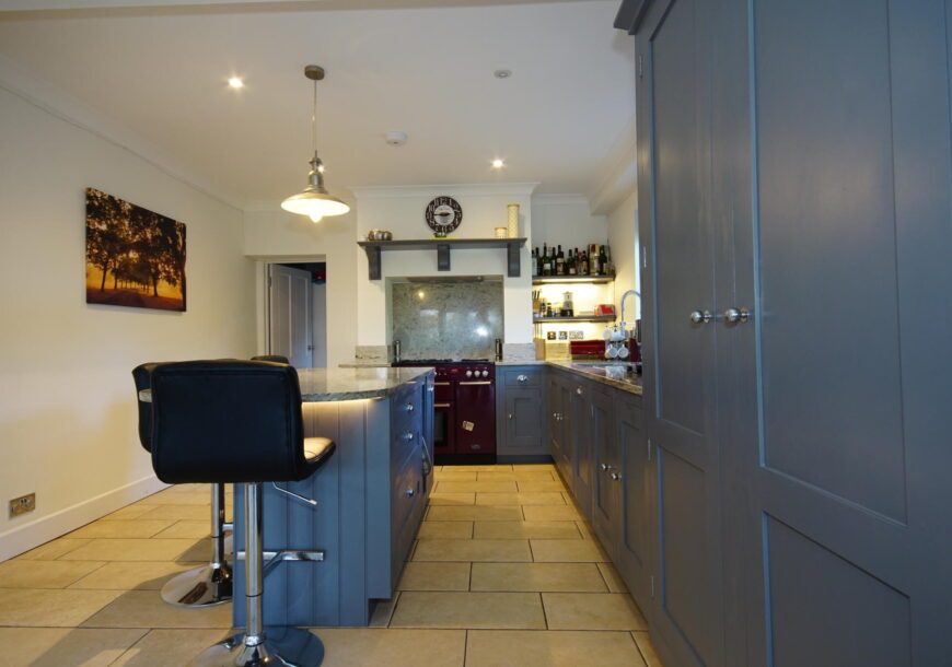 Approved Used Kitchen, Harvey Jones Painted In Frame, East Sussex
