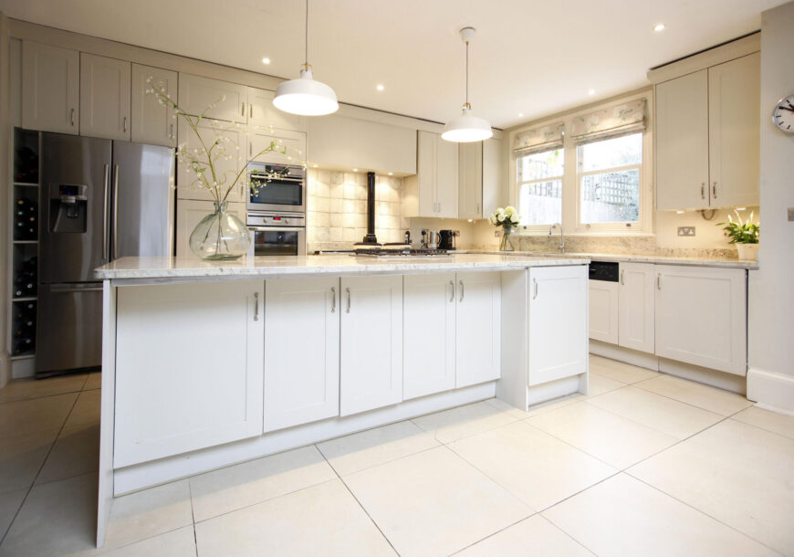 Approved Used Kitchen, Large Shaker with Island, London