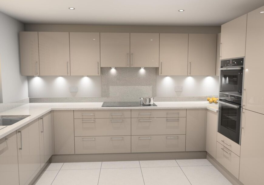 Brand New Cancelled Order! Sheraton Gloss Kitchen Cabinets, South