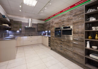 Wren Ex Display Kitchen, Wren Large Modern, Infinity Plus Range, Contour and Autograph, North (1)