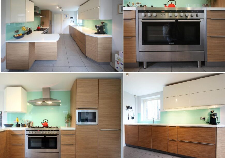 Approved Used Kitchen, Nicholas Anthony Modern, Siemens/Miele Appliances, London
