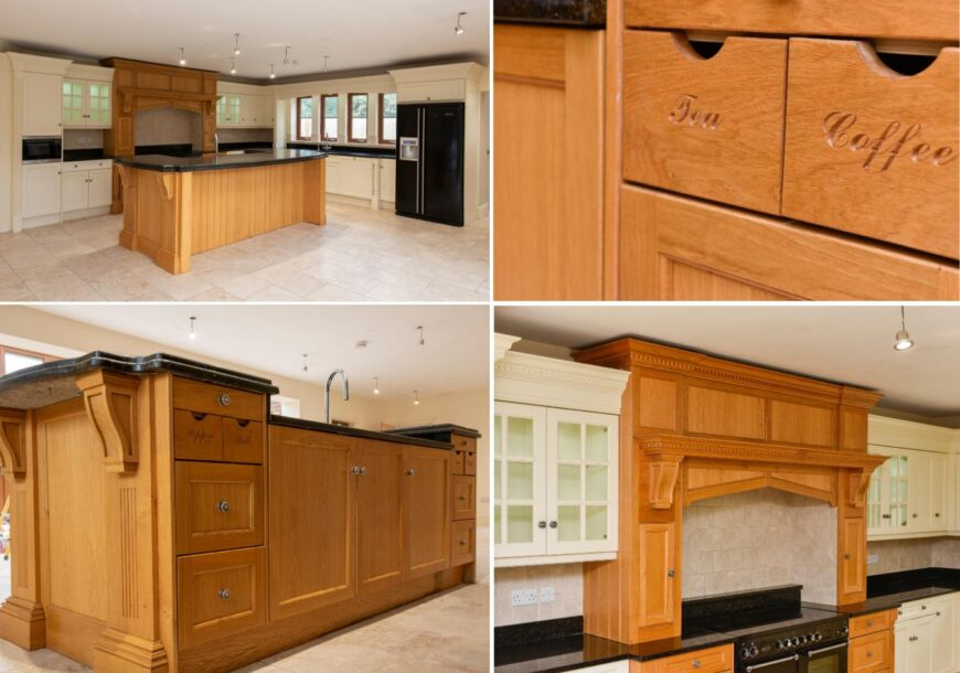 Approved Used Kitchen, Charles Yorke Shaker with Island, Yorkshire