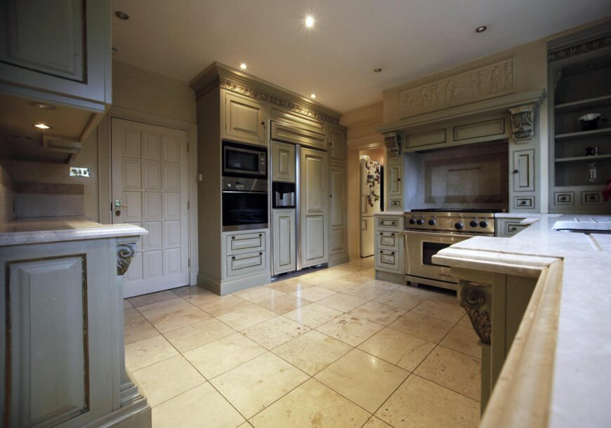 Approved Used Kitchen, Clive Christian, Wolf Range Oven, Wimbledon