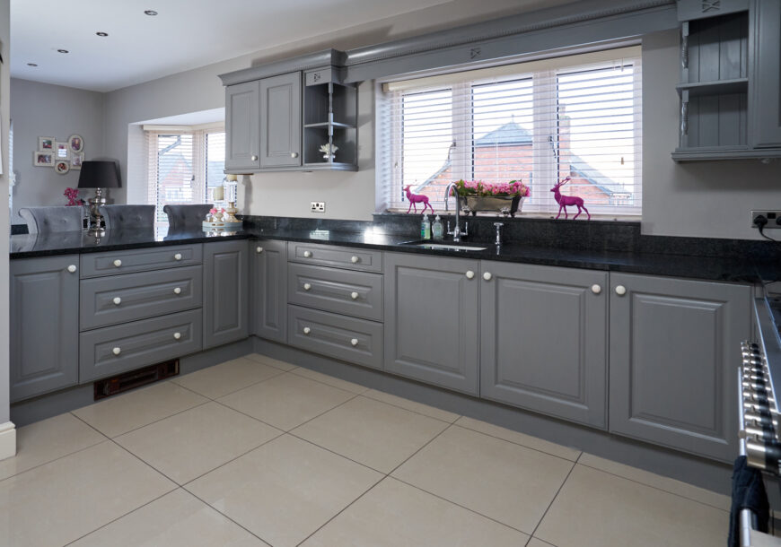 Approved Used Kitchen, Painted Shaker, Utility, Cheshire