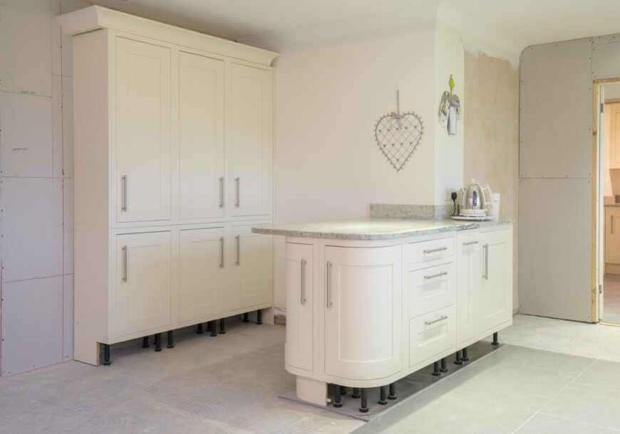 Approved Used Kitchen, Shaker with Utility, Britannia Range Oven, Leicester