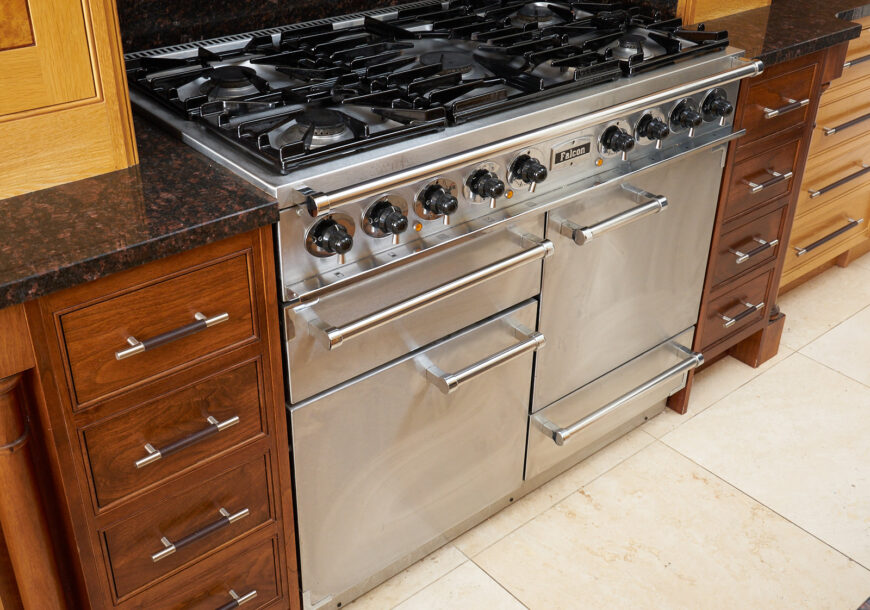 Approved Used Dual Fuel Falcon Range Oven, Wirral