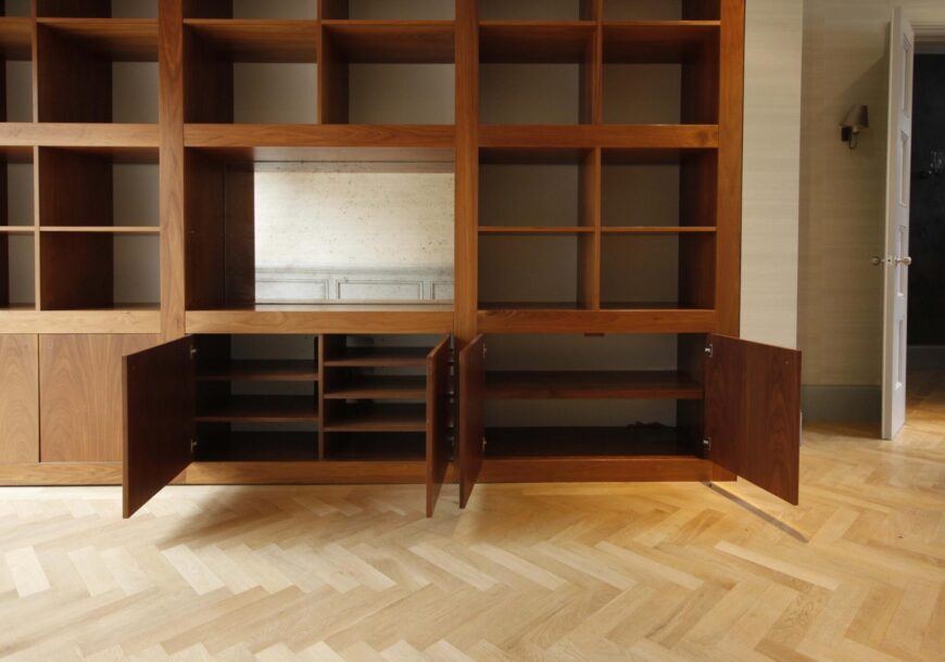 Approved Used Furniture, Modern Open Back Display Unit, South