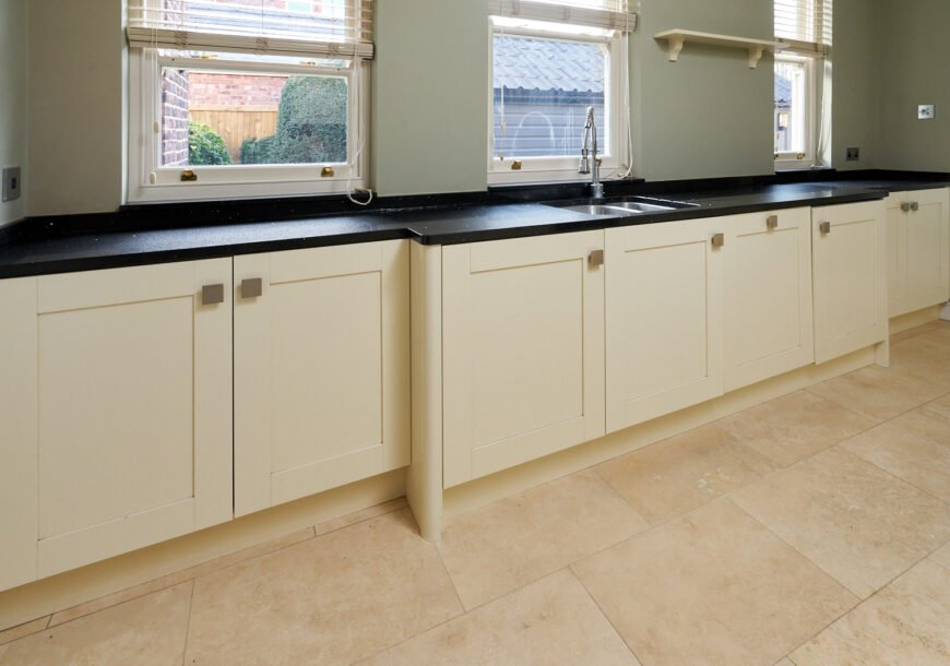 Approved Used Kitchen, Classic Painted Shaker, Cheshire