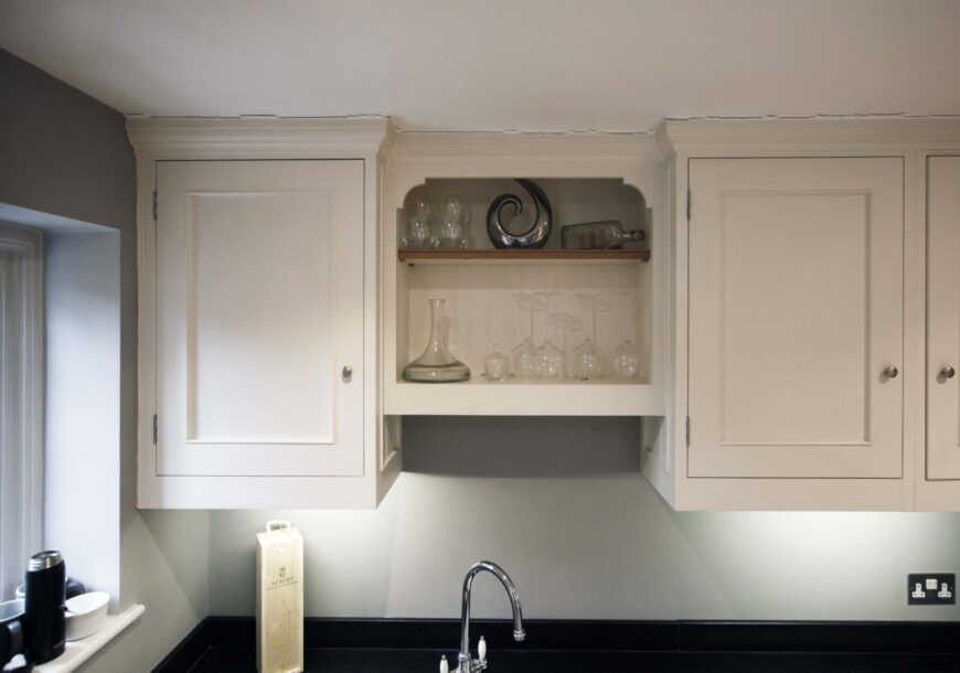 Approved Used Kitchen, Small Handmade In-frame Shaker, Surrey