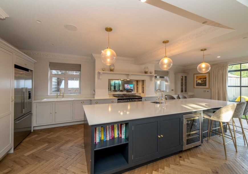 Approved Used Kitchen, Very Large Harvey Jones In Frame, Bedfordshire
