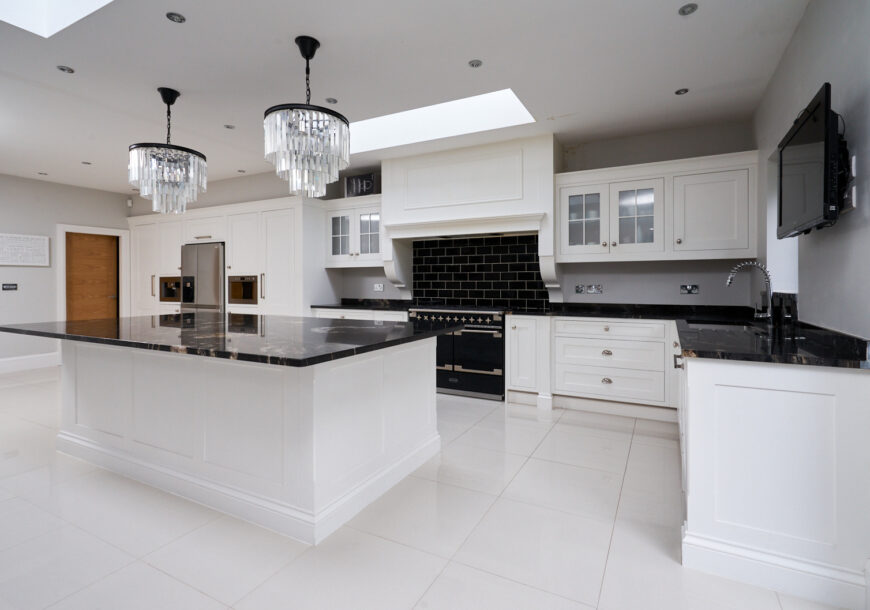 Approved Used Kitchen, Very Large In-frame Shaker, Merseyside