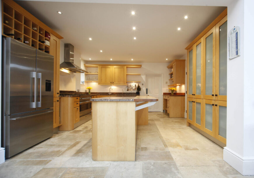 Approved Used Kitchen, Large Shaker, Britannia Range Oven, London