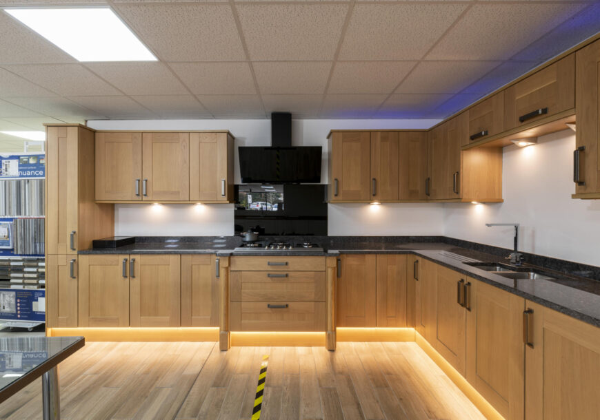 Ex Display Kitchen, Classic Shaker, Full Image