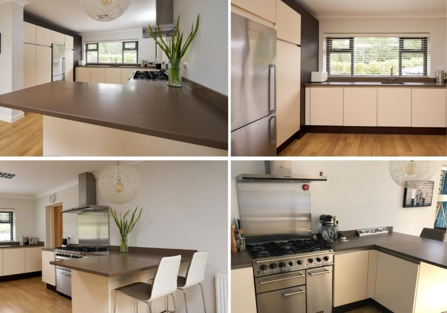 Approved Used Kitchen, SIEMATIC with Falcon Range Cooker, Lancashire