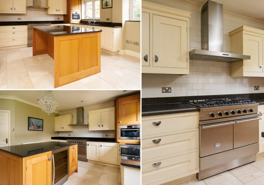 Approved Used Kitchen, Optiplan Inframe, Lacanche Range Oven, Cheshire