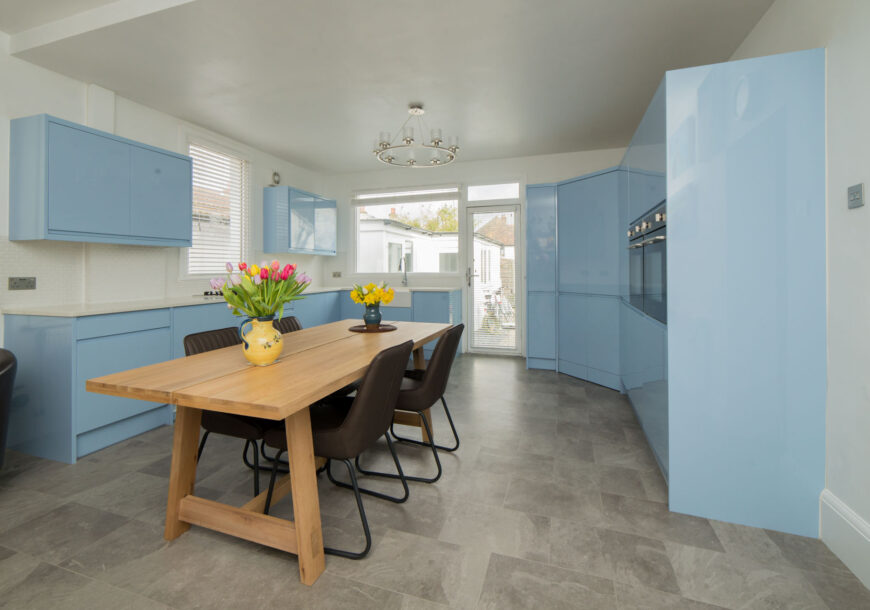 Approved Used Kitchen, Wren Modern Gloss, Essex