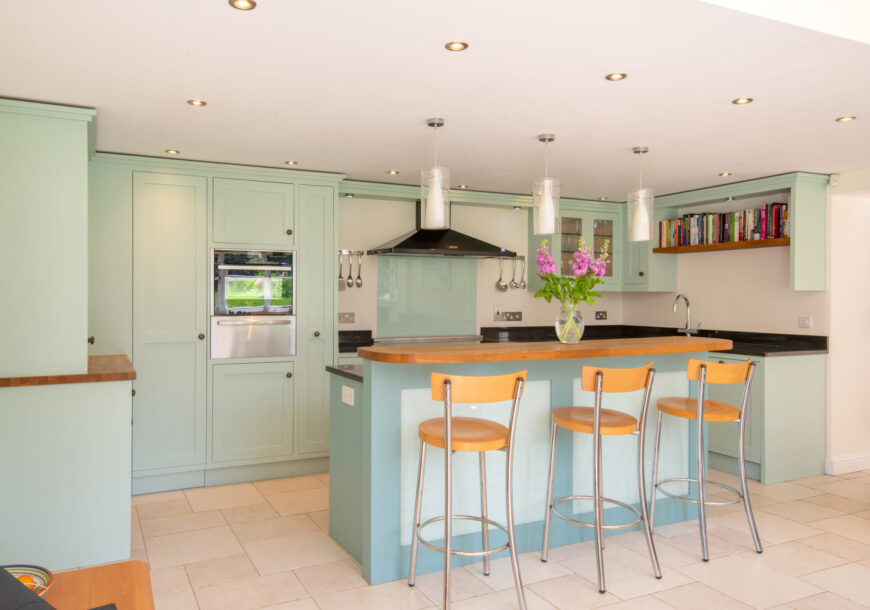 Approved Used Kitchen, Painted In Frame, Falcon Range Oven, East Midlands