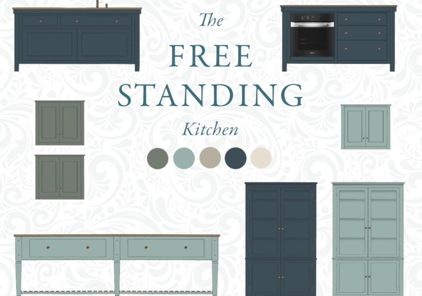 Coming Soon! The Freestanding Kitchen