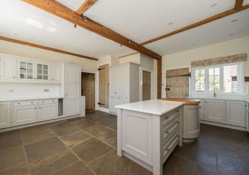 Approved Used Kitchen, Very Large Bespoke Beaded S...