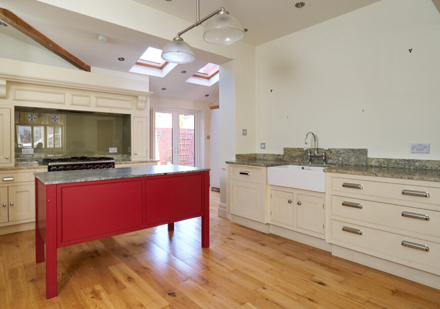 Approved Used Kitchen, In-frame Shaker with Island, Falcon Range Oven, Lancashire