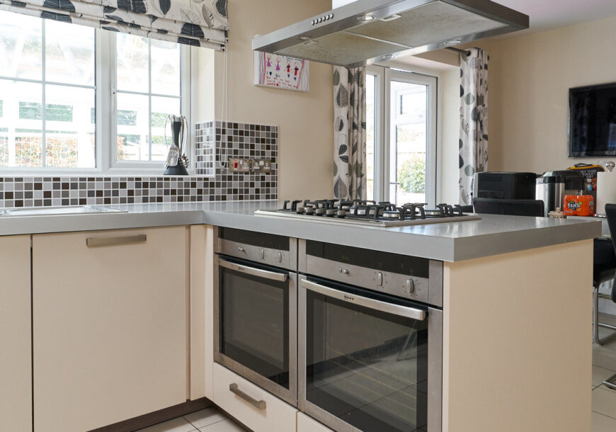 Approved Used Kitchen, SieMatic Modern, NEFF Appliances, Cheshire