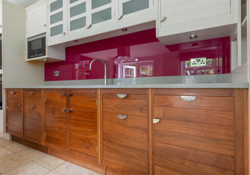 Approved Used Kitchen, Smallbone of Devizes Walnut & Silver, Seating Area, Warwickshire