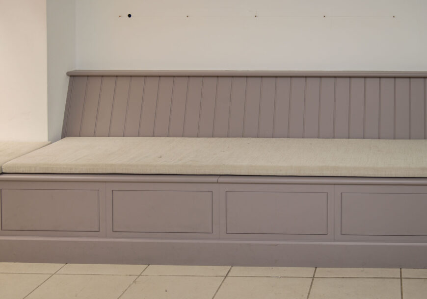 Ex Display Cabinetry, Harvey Jones Linear Edge Seating Area, South