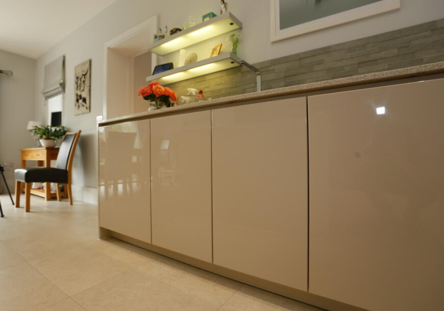 Approved Used Kitchen, Alno Gloss Handleless, Surr...